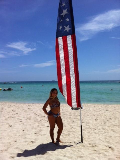 Mulher Melão está em Miami, nos Estados Unidos