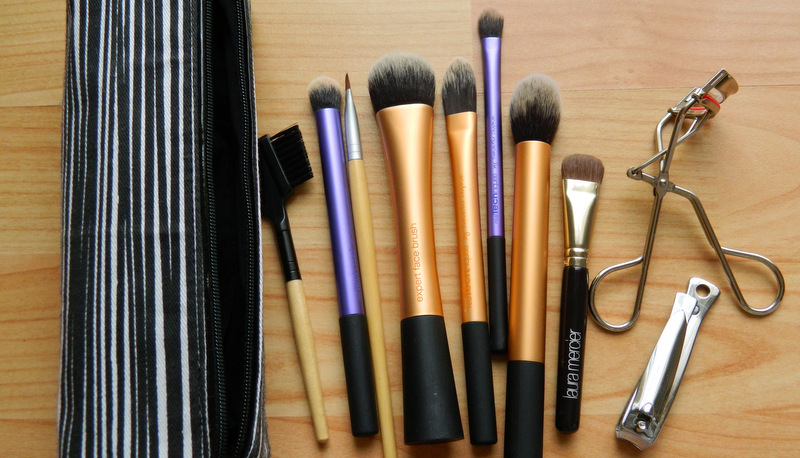 My Travel Makeup: Brushes and Tools