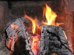 Wood smoke: smells almost as good as fresh bread tastes
