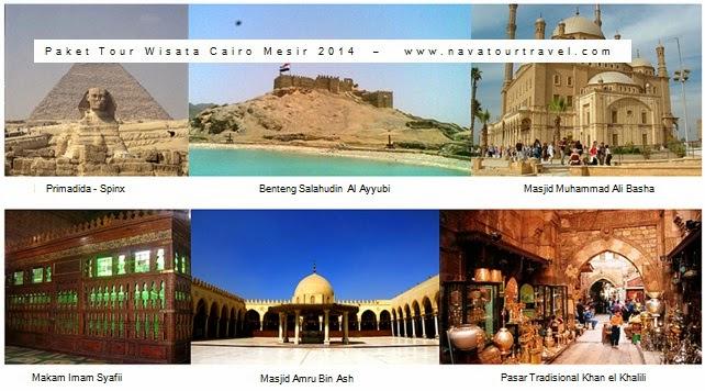 Paket Tour Wisata Cairo 6D5N