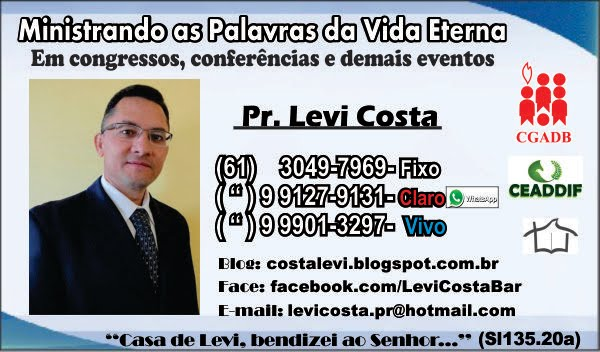 MEU CARTÃO DE VISITAS - Clique para ampliar>>