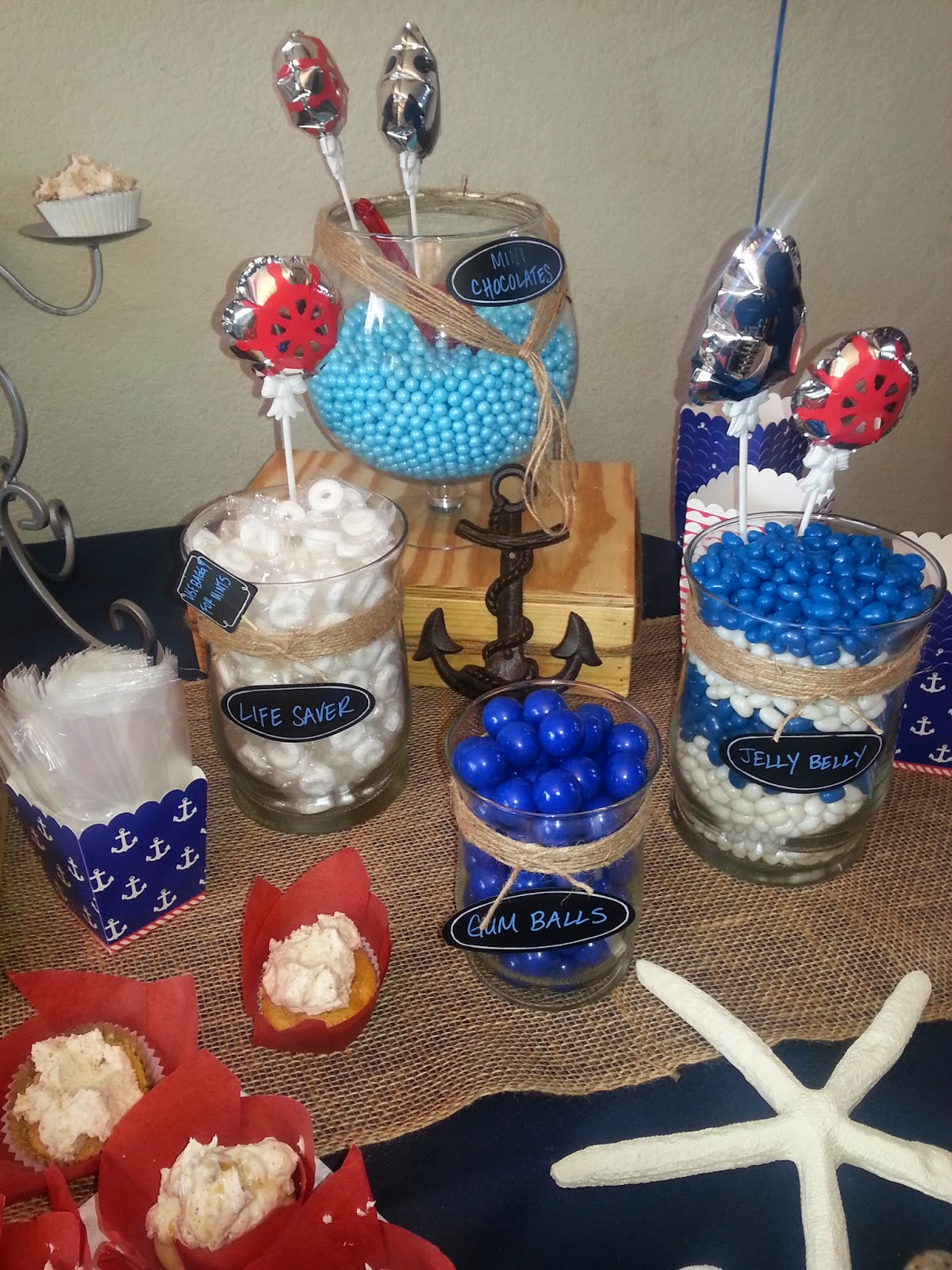 Nautical Themed Baby Shower for my BFF