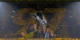 Quel Magnifique Tifo des supporteurs du Borussia lors de Dortmund-Juventus  !!!