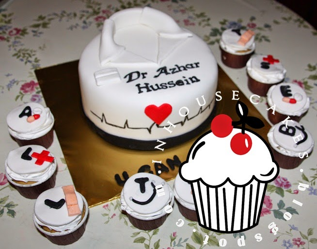 Fondant Cake Doctor Theme InHouseCakes