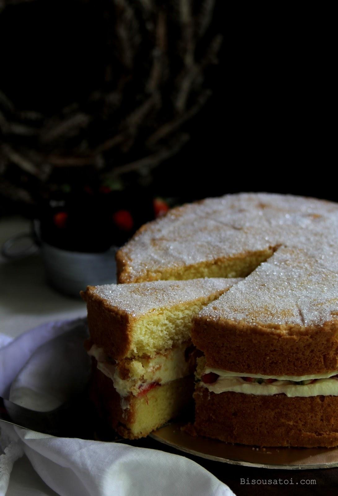 The Best Victoria Sponge Cake Recipe With  Eggs