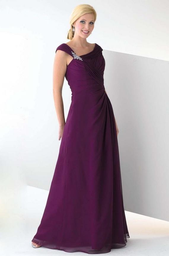 Purple Bridesmaid Dresses