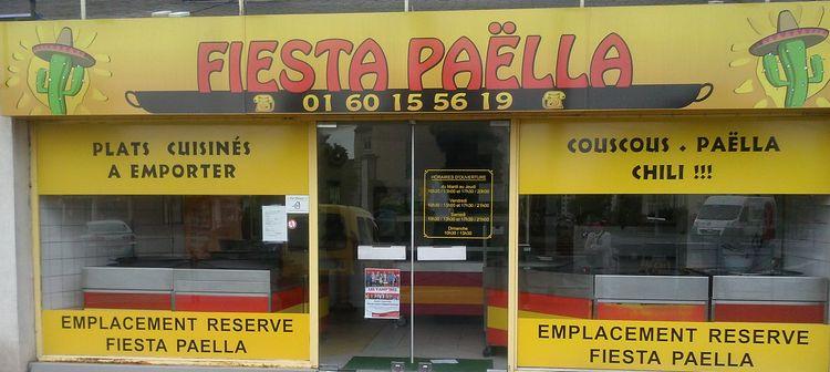 Fiesta Paella Votre boutique de paella à emporter en région parisienne