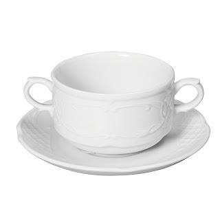 Bol salata catering 25 cl, din portelan alb, se poate folosi la masina de vase si cuptorul cu microunde in conditii de siguranta