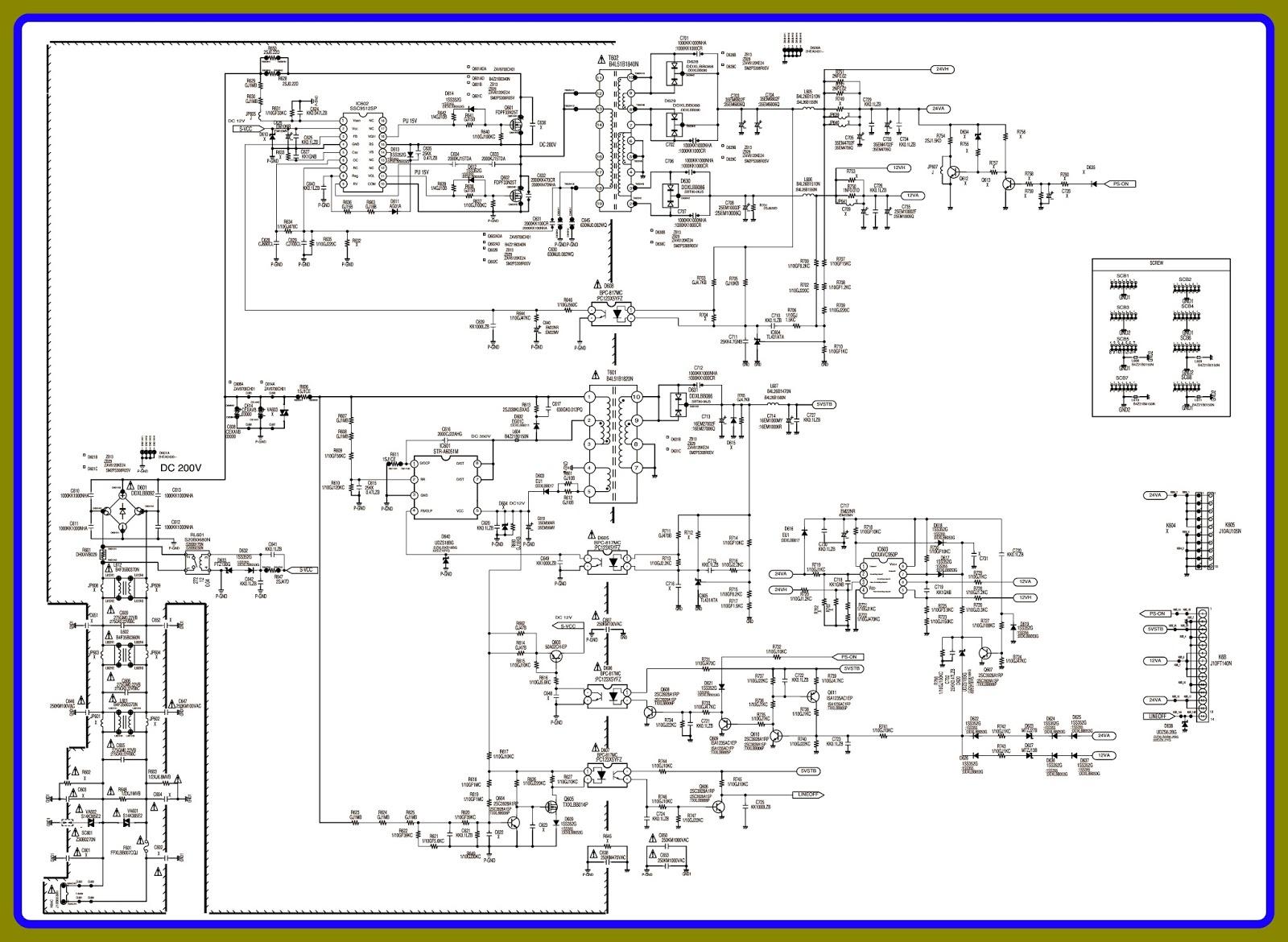 sanyo tv 46840 wiring diagram