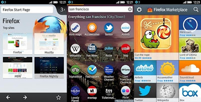 Firefox OS - User Interface
