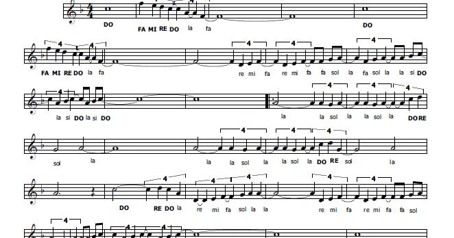 Musica e spartiti gratis per flauto dolce goldrake