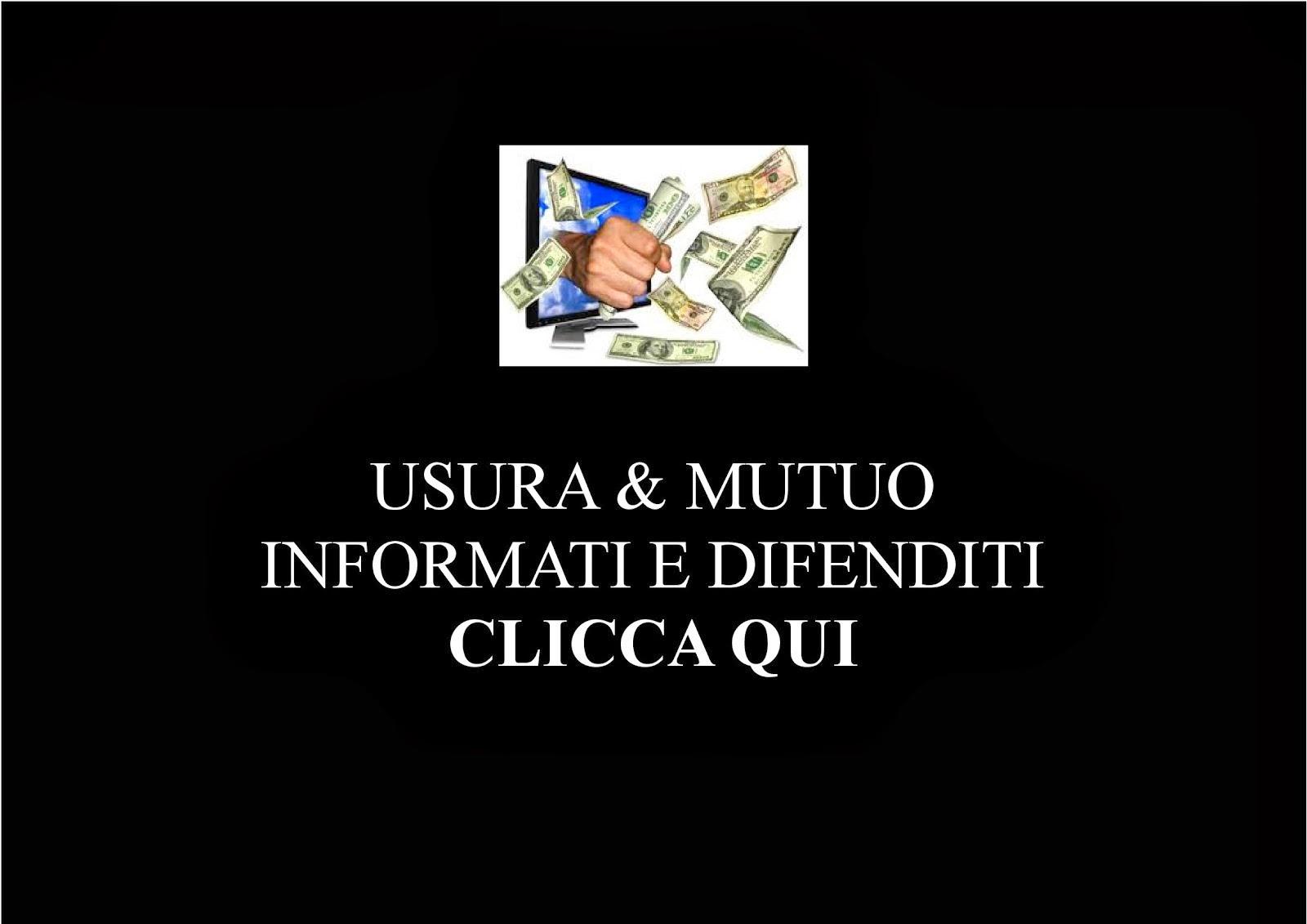 usura@consumatoreinformato.it