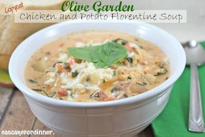 Eat cake for dinner copycat olive garden chicken and - Olive garden soup and salad dinner ...