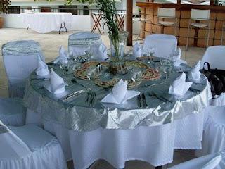 Decoracion de Mesas para Fiestas, parte 1