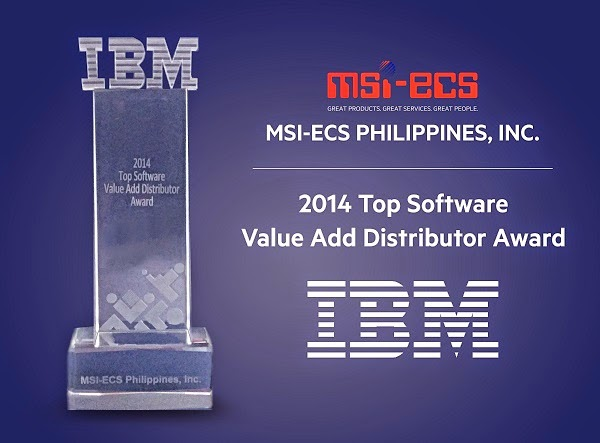IBM Top Software Value Add Distributor Award