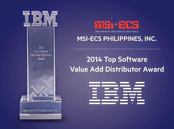 IBM Top Software Value Add Distributor Award