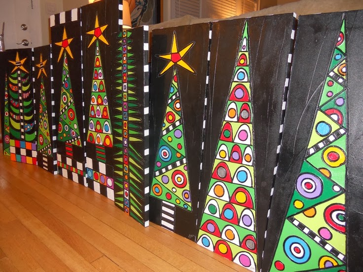 Christmas art projects for middle school students for Arts and crafts for middle school