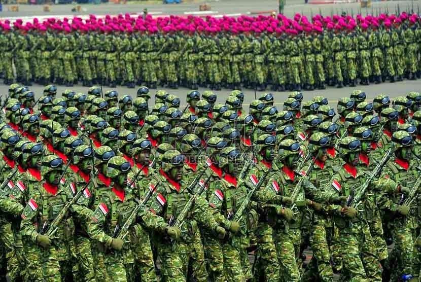 Prajurit TNI tak Bisa Didikte Negara Lain