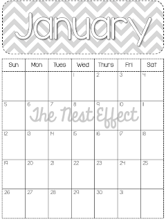 http://www.thenesteffect.com/2013/05/free-printable-2014-monthly-chevron.html