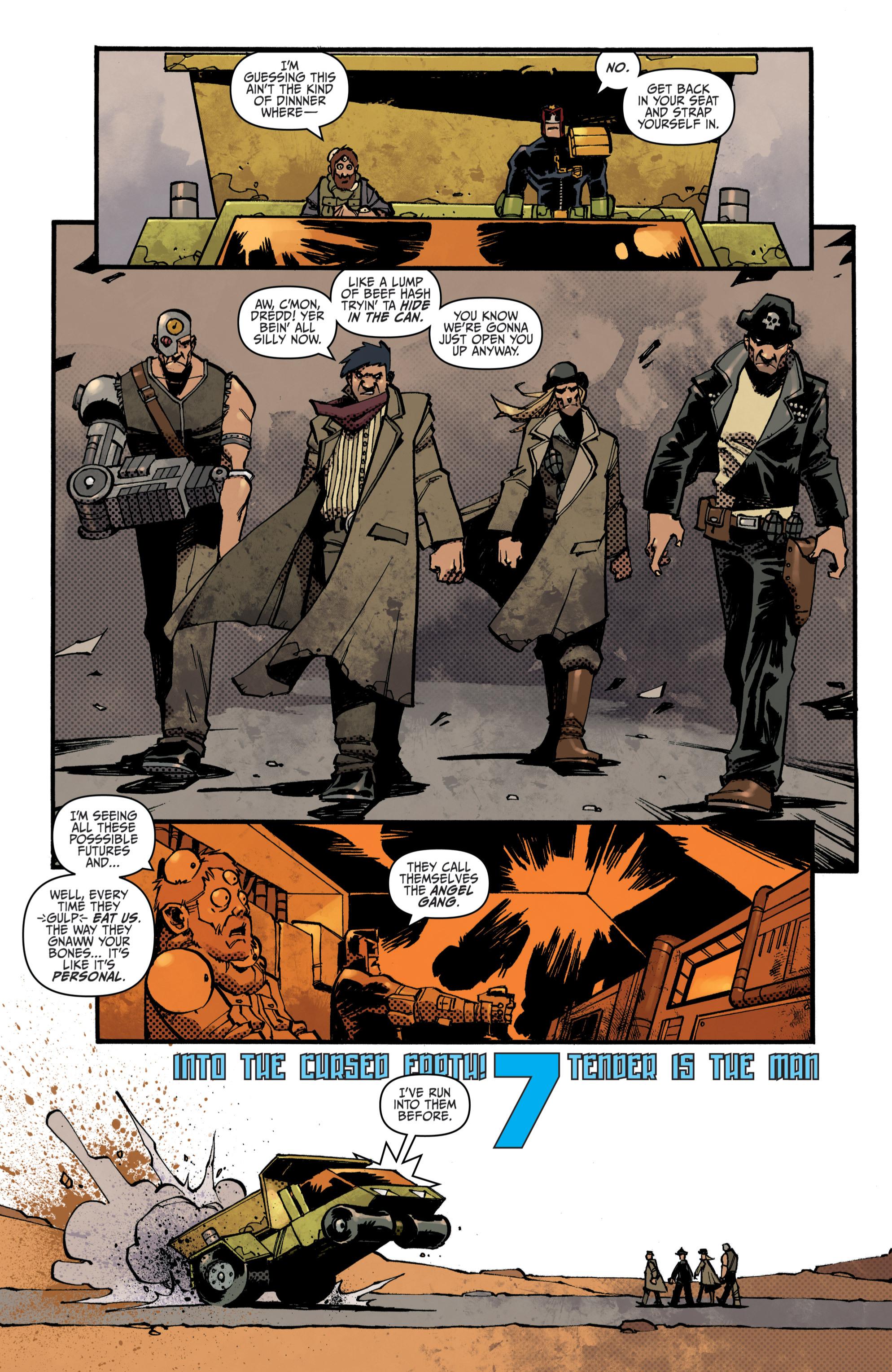 Read online Judge Dredd (2012) comic -  Issue # _TPB 3 - 49