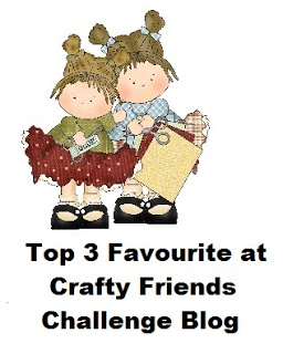 5 x Crafty Friends Top 3