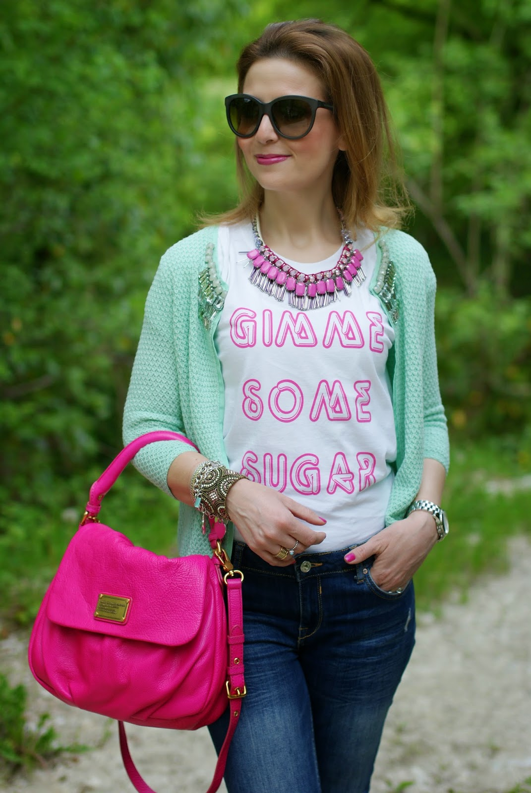 Cake for Breakfast, Gimme some sugar, Sodini necklace, Marc by Marc Jacobs Little Ukita bag, Fashion and Cookies, fashion blogger