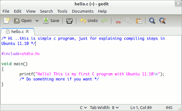 How To Compile And Run A Program In C Free Programs