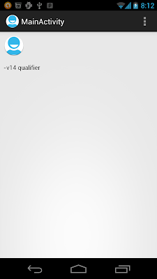 Galaxy Nexus (4.0.4) in portrait orientation