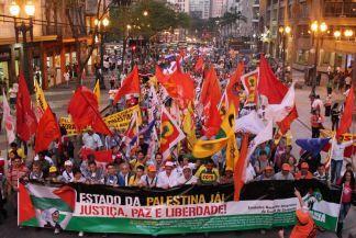 Ato histórico em São Paulo pelo Estado da Palestina Já - foto 3