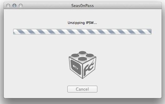 Unzip IPSW with Seas0nPass