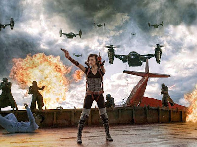 CINE || ResidentEvil RETRIBUTION