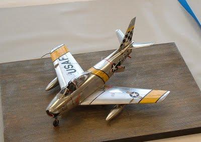 F-86 Sabre model photo