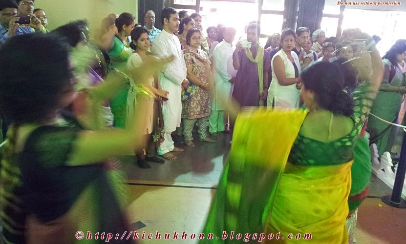 Dhunuchi naach Durga puja pune