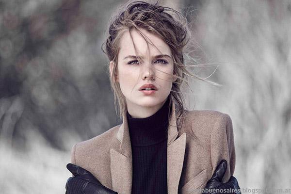 Paula Cahen D'Anvers otoño invierno 2015. Moda invierno 2015.