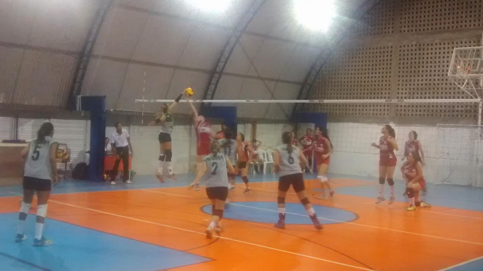 América vence e garante vaga na semi-final da Copa Cidade do Recife de Vôlei Feminino