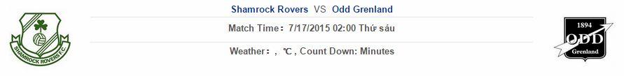 Shamrock Rovers vs Odd Grenland link vào 12bet