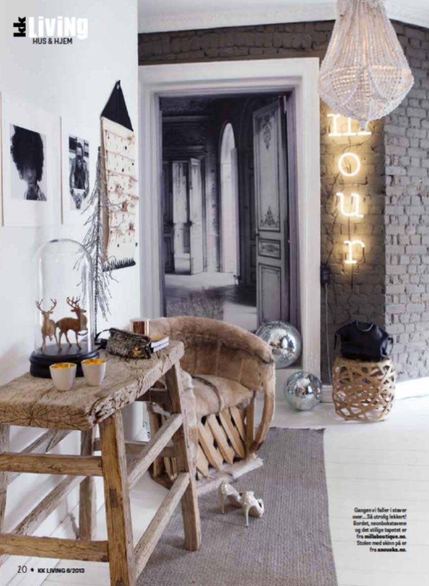 HOUSE OF SILVER: Inspirerende indretning