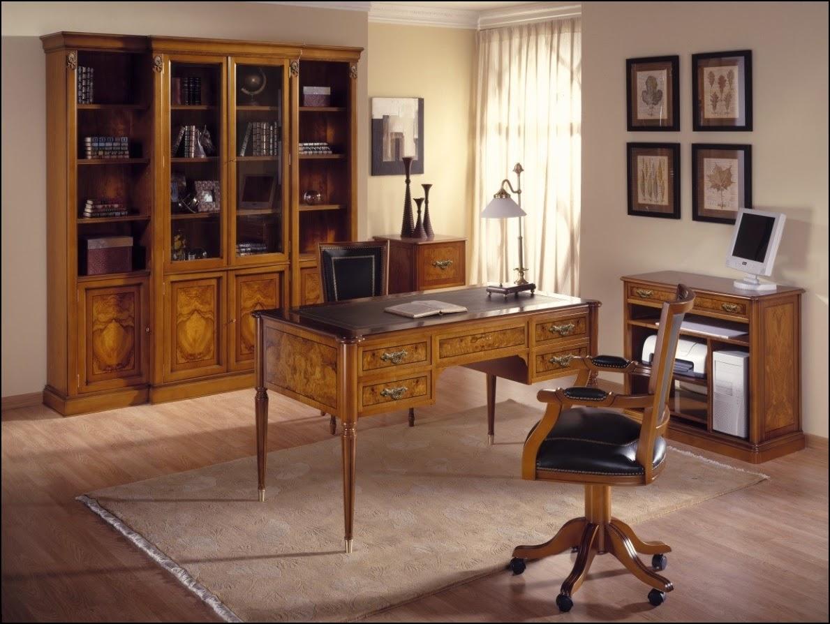 Blog de mbar muebles la vuelta al trabajo y al cole en - Muebles despacho clasico ...