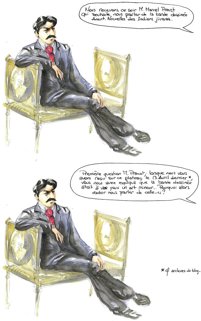 Marcel Proust pour parler d'Anent. Nouvelles des Indiens jivaros