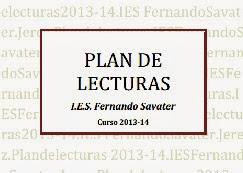 PLAN DE LECTURAS 2013/14
