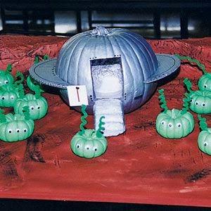 Alien UFO Pumpkin