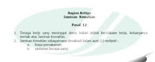 Opini Indonesia, jaminan kematian