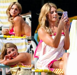 Youtube, Ashley Greene in a Yellow Bikini on Staten Island Summer scenes in New York