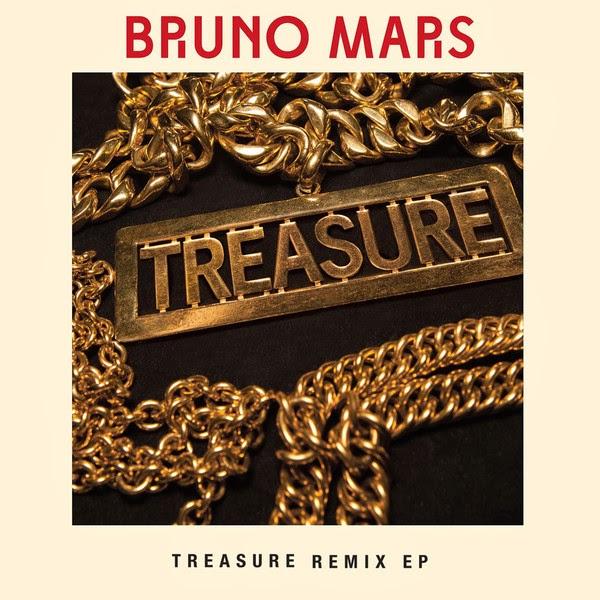 Bruno Mars - Treasure (Remixes) - EP Cover