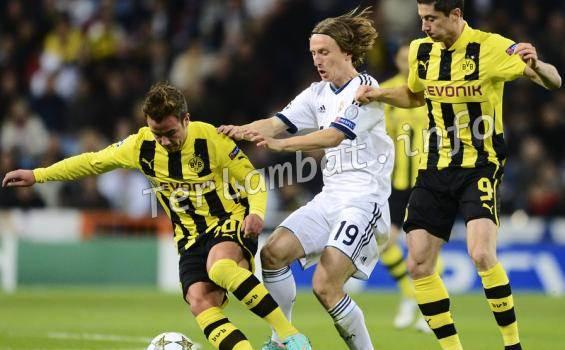 Hasil Pertandingan Real Madrid VS Borussia Dortmund