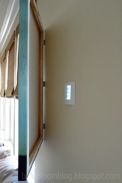 how to hide wall eyesore