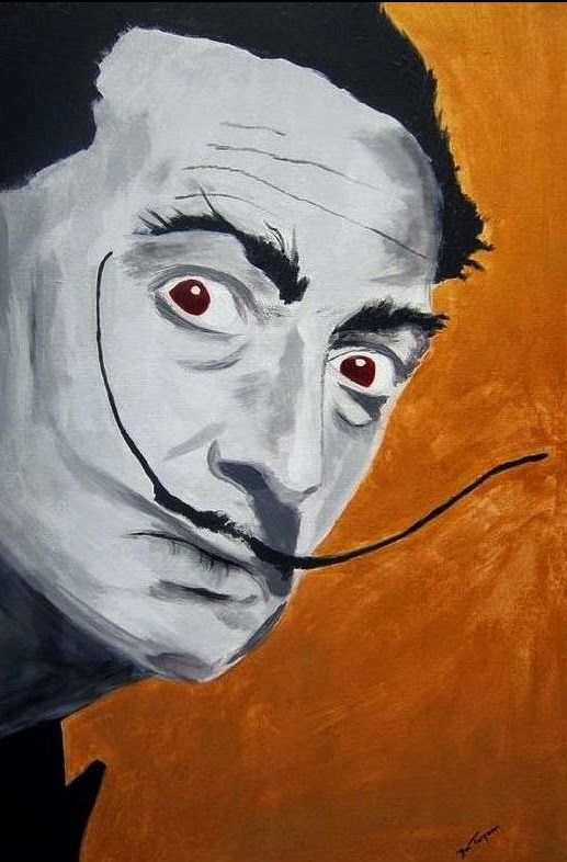 painting of salvador dali