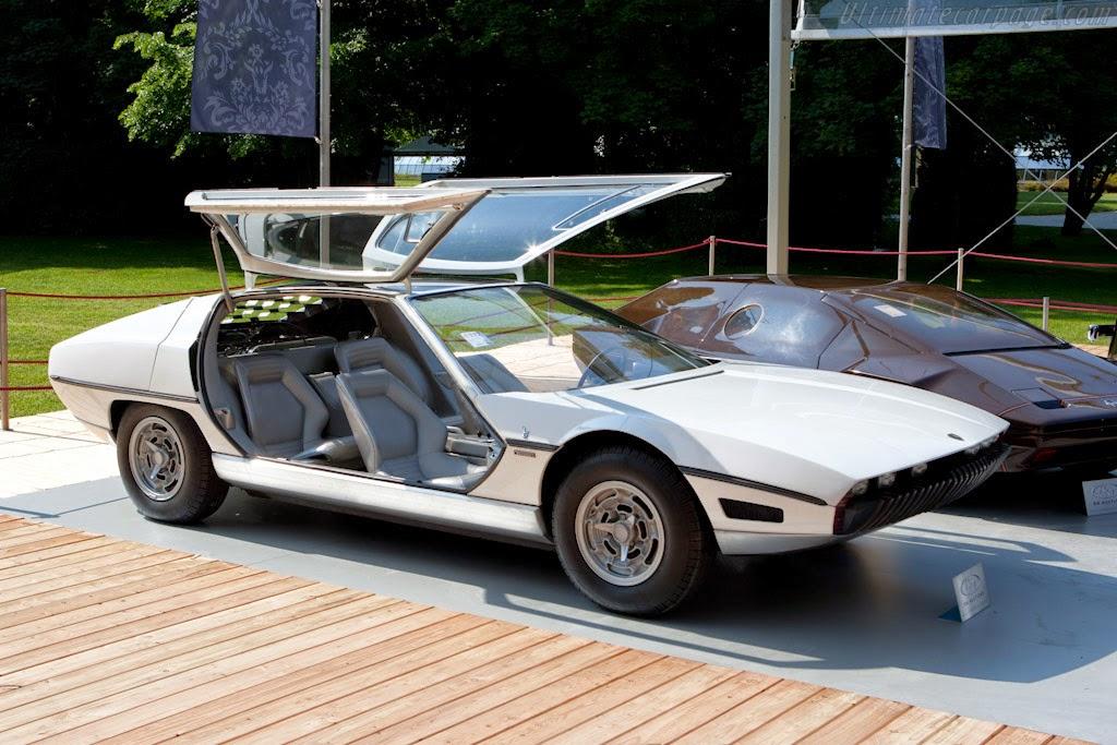 Fab Wheels Digest F W D 1967 Lamborghini Marzal