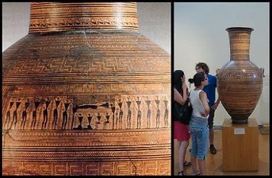 Más allá de Pangea, cerámica griega, edad oscura, dark Age, maestro del Dypilón, Dypilón, período geométrico, helénica, arte griego