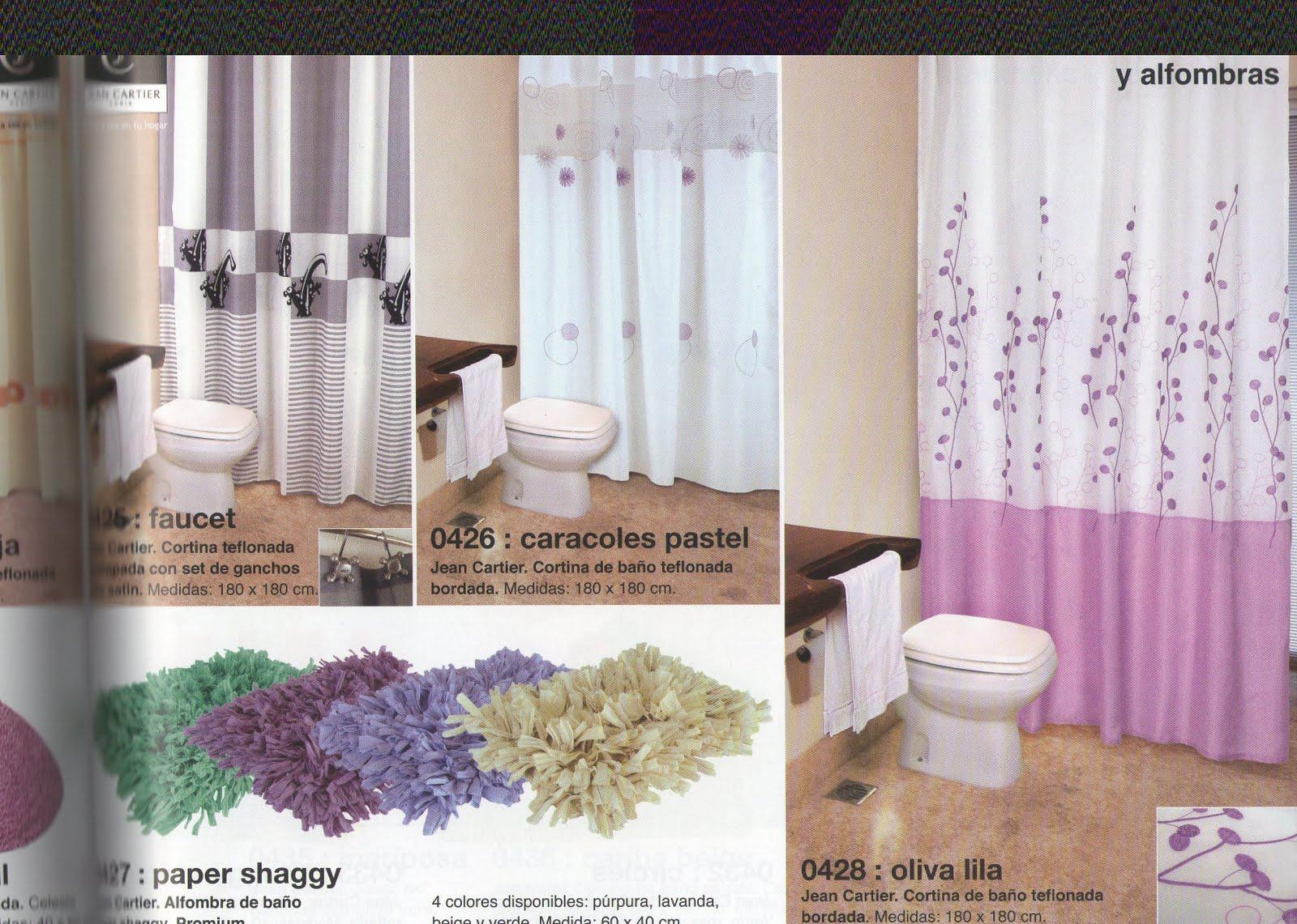 Jean cartier temporada oto o invierno 2011 accesorios for Accesorios para cortinas de bano